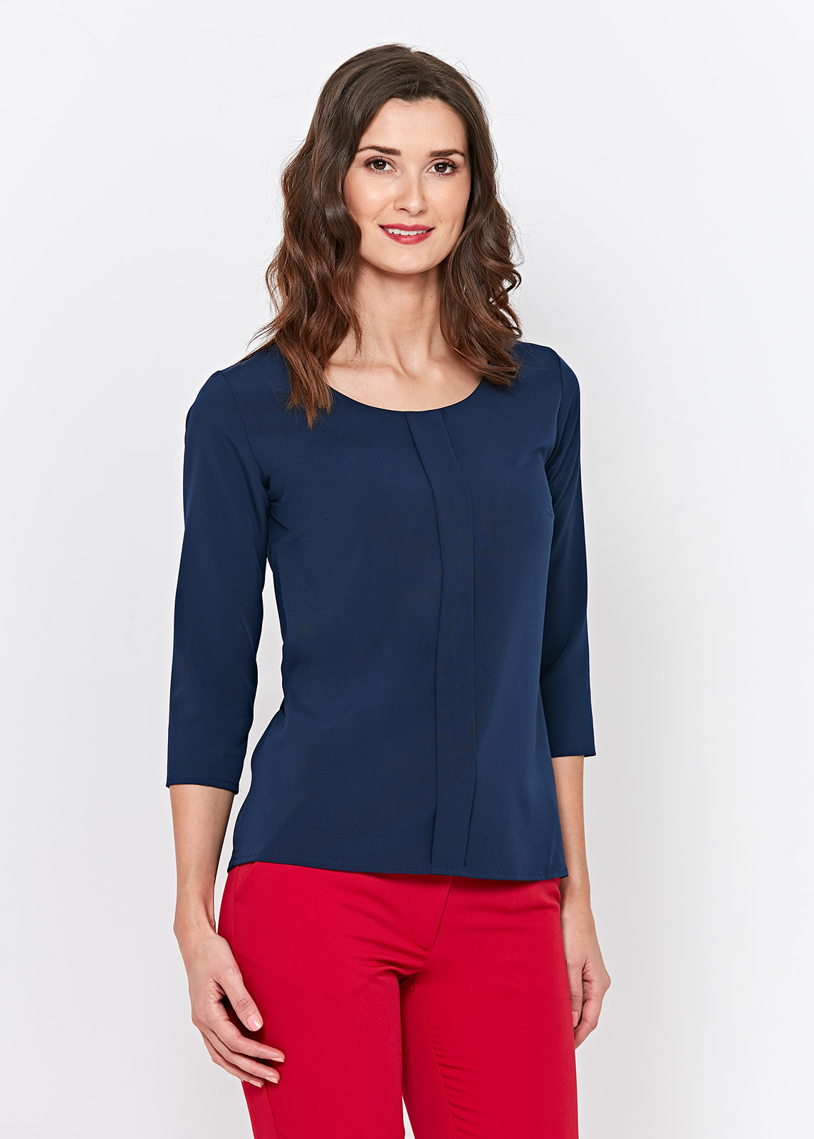 Women's blue blouse ZOCHA Navyblue